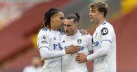 Helder Costa, Jack Harrison, Patrick Bamford Leeds United