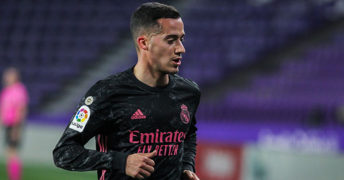 Lucas Vazquez Real Valladolid v Real Madrid February 2021