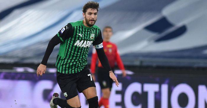 Manuel Locatelli Lazio v Sassuolo January 2021