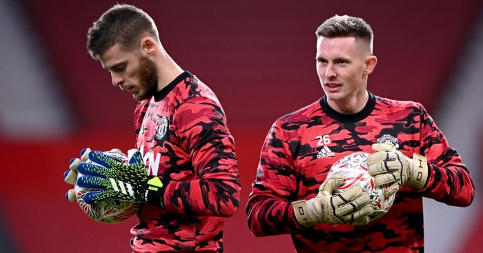David de Gea; Dean Henderson TEAMtalk