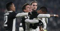 Alex Sandro, Paulo Dybala, Adrien Rabiot, Douglas Costa, Juventus