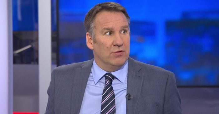 Paul Merson - pic via Sky Sports