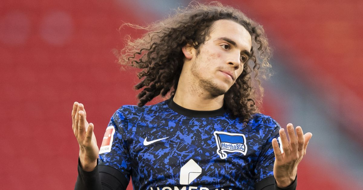 Matteo Guendouzi Hertha Berlin on loan from Arsenal