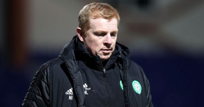 Neil Lennon Ross County v Celtic