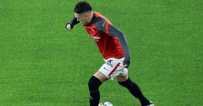 Lucas Ocampos Sevilla v Real Valladolid December 2020