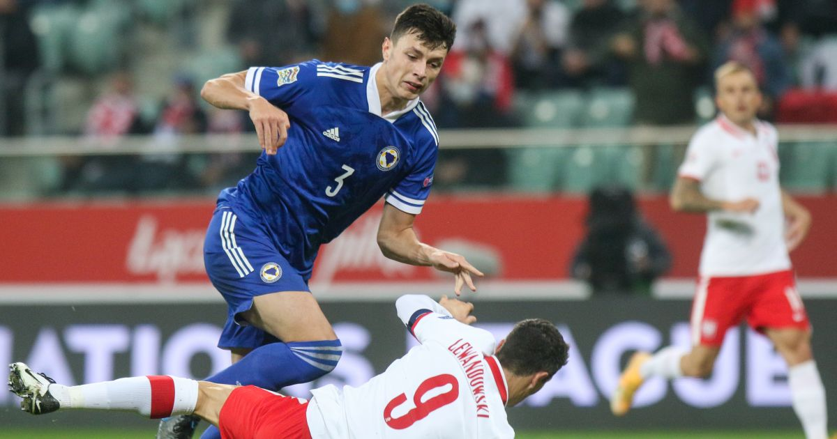 Anel Ahmedhodzic Bosnia v Poland October 2020