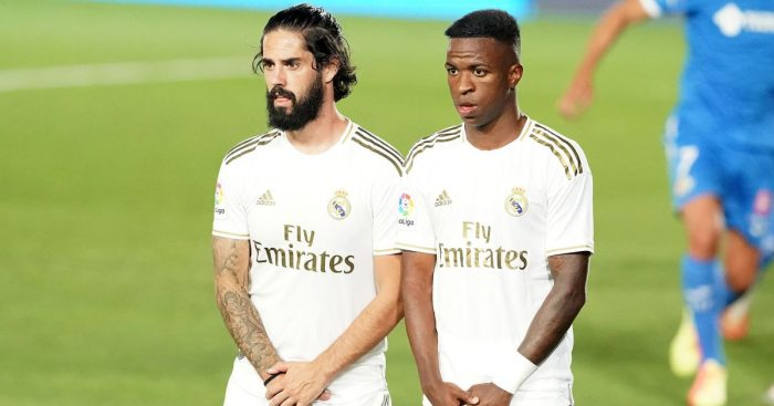 Isco, Vinicius Junior Real Madrid