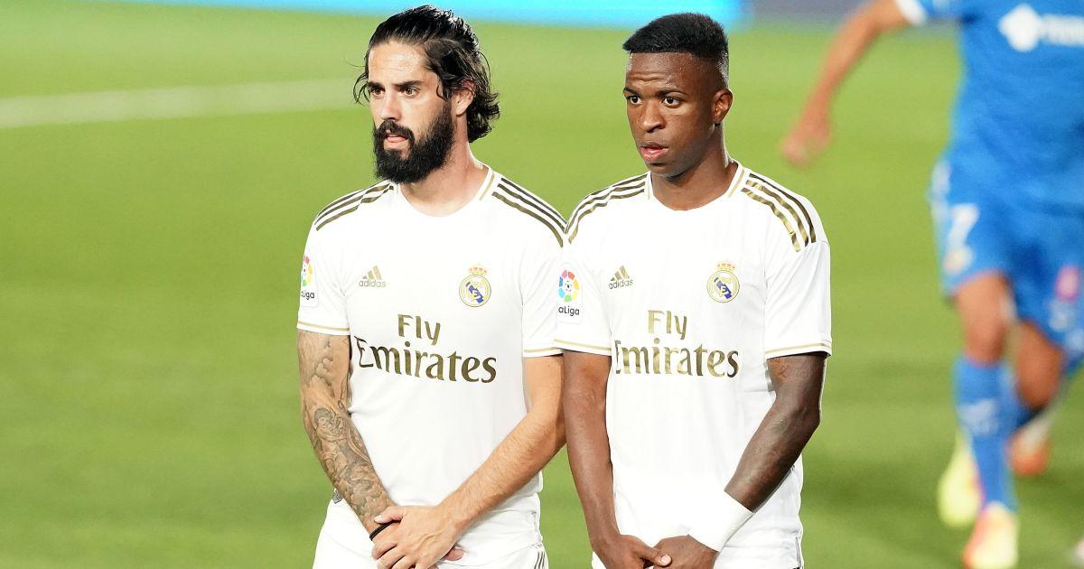 Isco, Vinicius Junior Real Madrid