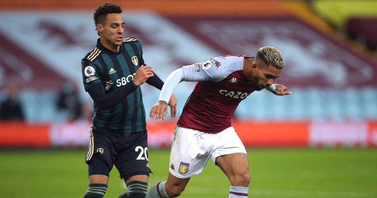 Rodrigo, Douglas Luiz Aston Villa v Leeds October 2020
