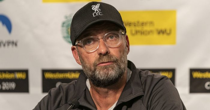 Jurgen Klopp Liverpool press conference