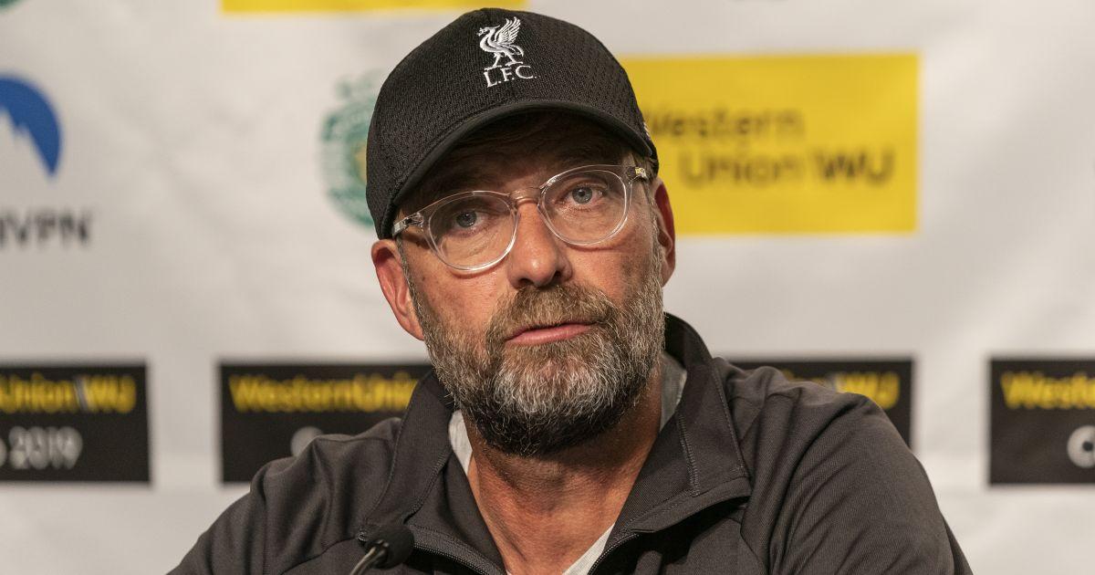 Jurgen Klopp Liverpool press conference