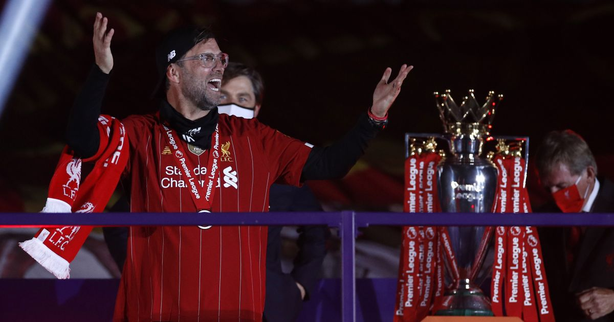 Jurgen Klopp Premier League trophy TEAMtalk