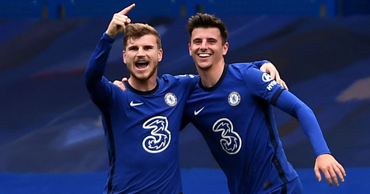 Timo Werner, Mason Mount Chelsea