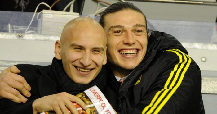 Jonjo Shelvey, Andy Carroll Liverpool