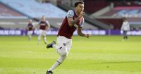 Jesse Lingard celebrates West Ham