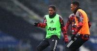Fred, Anthony Martial West Brom v Man Utd February 2021