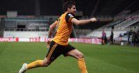 Ruben Neves Newcastle v Wolves February 2021