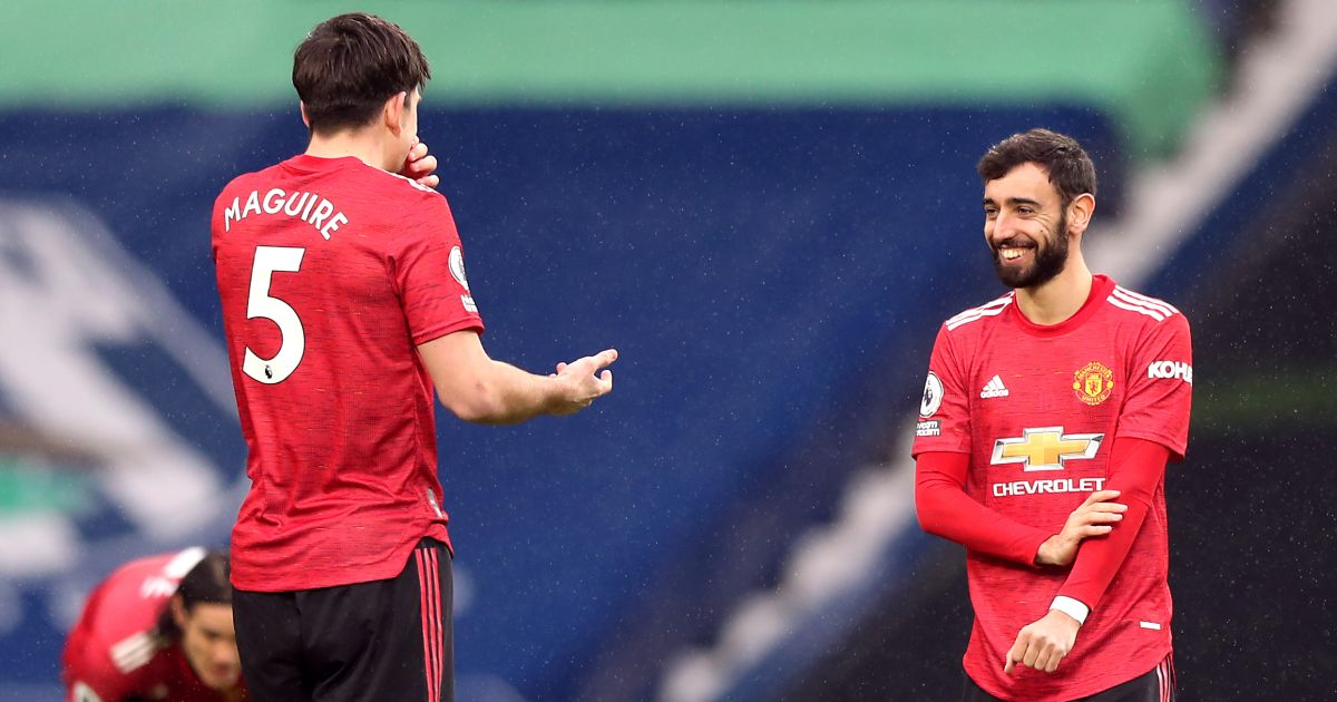 Harry Maguire; Bruno Fernandes TEAMtalk