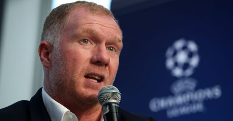 Paul Scholes Champions League event