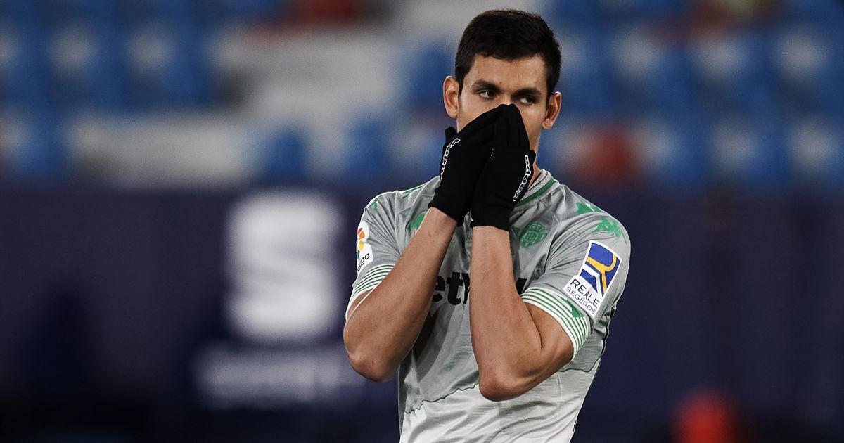 Aissa Mandi Levante v Real Betis December 2020