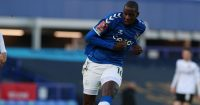 Abdoulaye Doucoure Everton v Rotherham January 2021