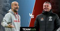 Pep Guardiola v Ole Gunnar Solskjaer, Man City v Man Utd