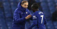 N'Golo Kante, Thomas Tuchel Chelsea v Newcastle February 2021