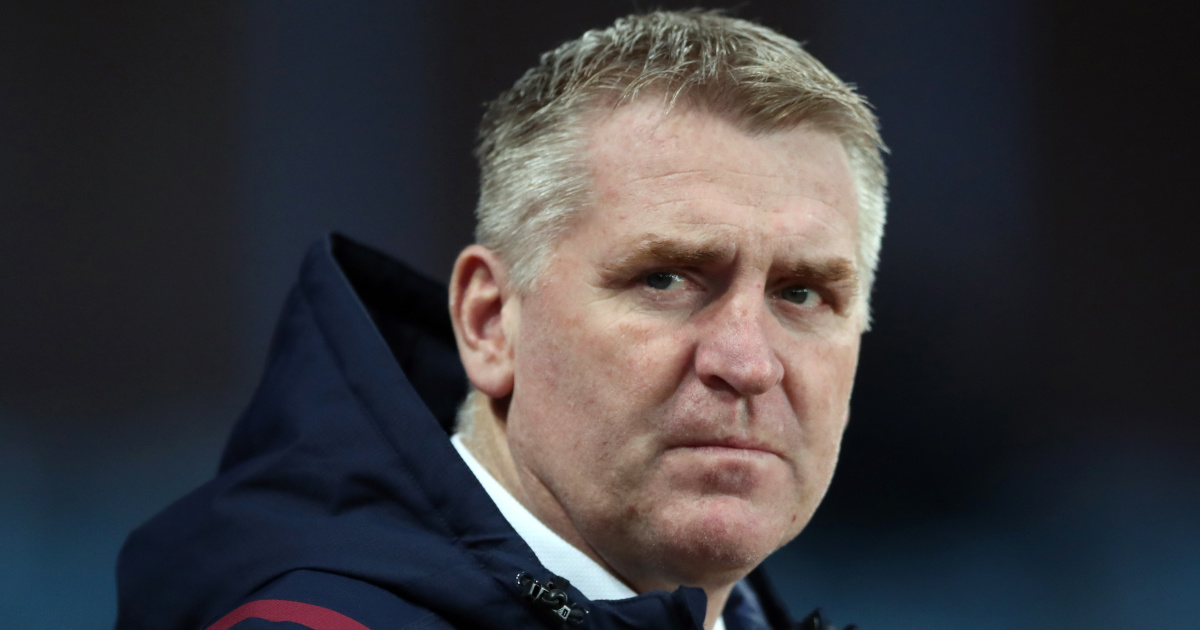 Dean Smith slams 'sloppy' Aston Villa display – 'We threw away points' - team talk