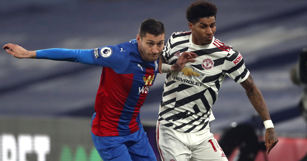 Toothless Man Utd tread water as Crystal Palace contain Fernandes and co.