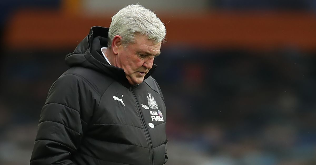 Steve Bruce Newcastle January 2021
