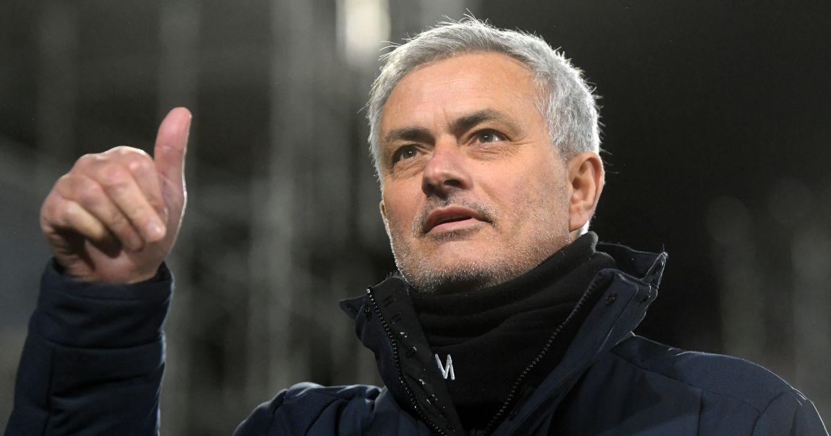 Jose Mourinho Fulham v Tottenham March 2021