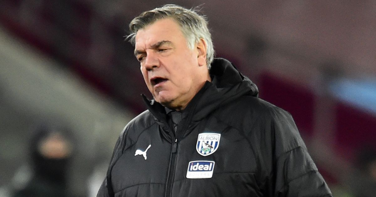Sam Allardyce WBA boss frustrated