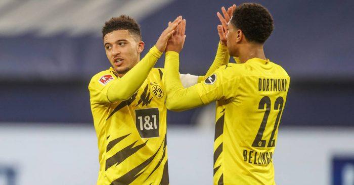 Jadon Sancho, Jude Bellingham Borussia Dortmund