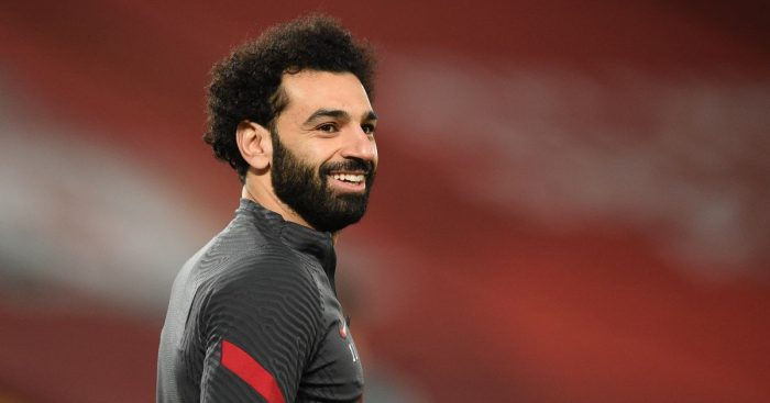 Mohamed Salah Liverpool v Chelsea March 2021