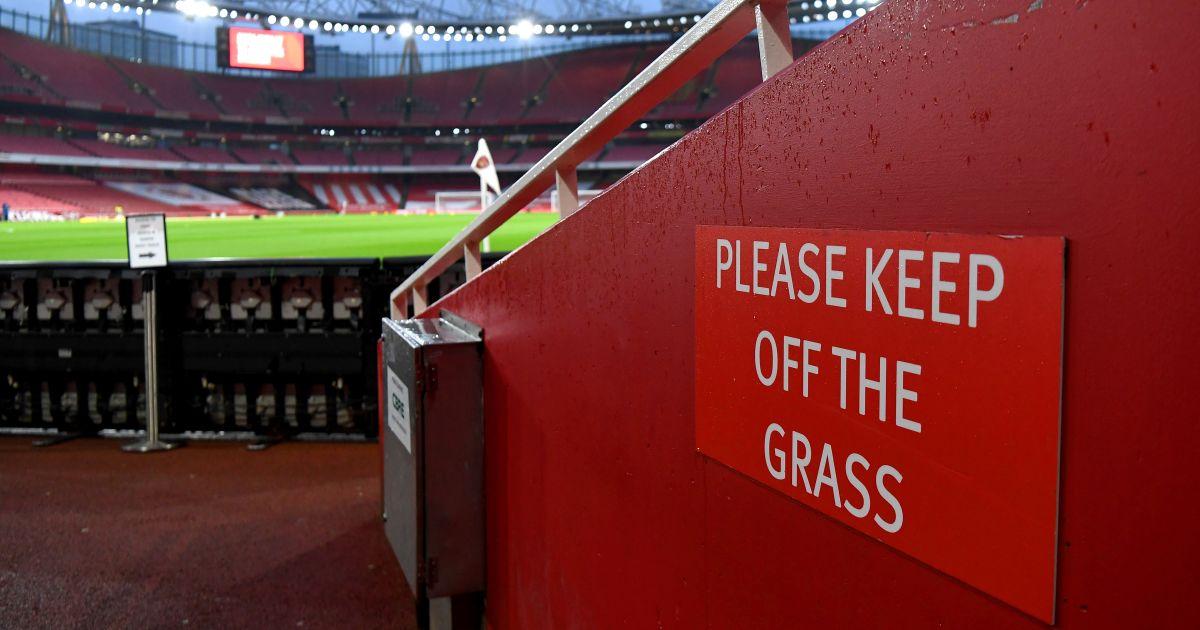 Arsenal Emirates Stadium Arsenal v Man Utd January 2021