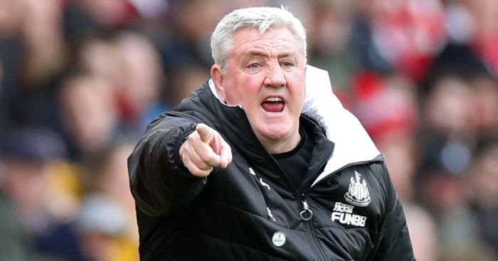 Steve Bruce Newcastle manager