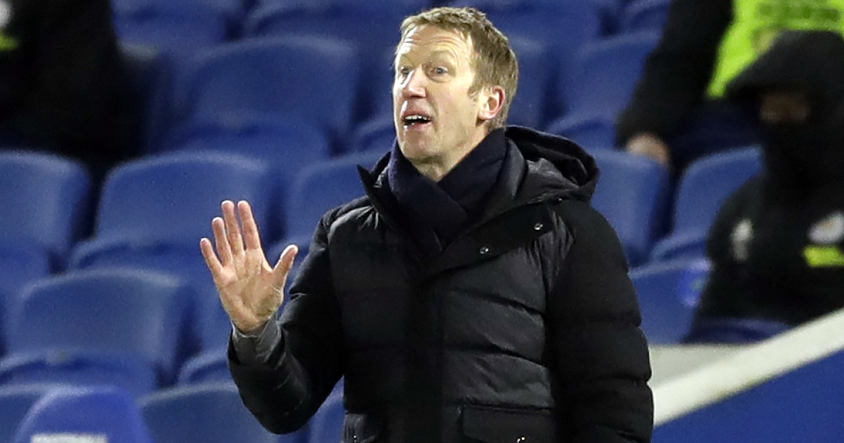 Potter explains where 'suffering' Brighton misfired in tough loss - team talk