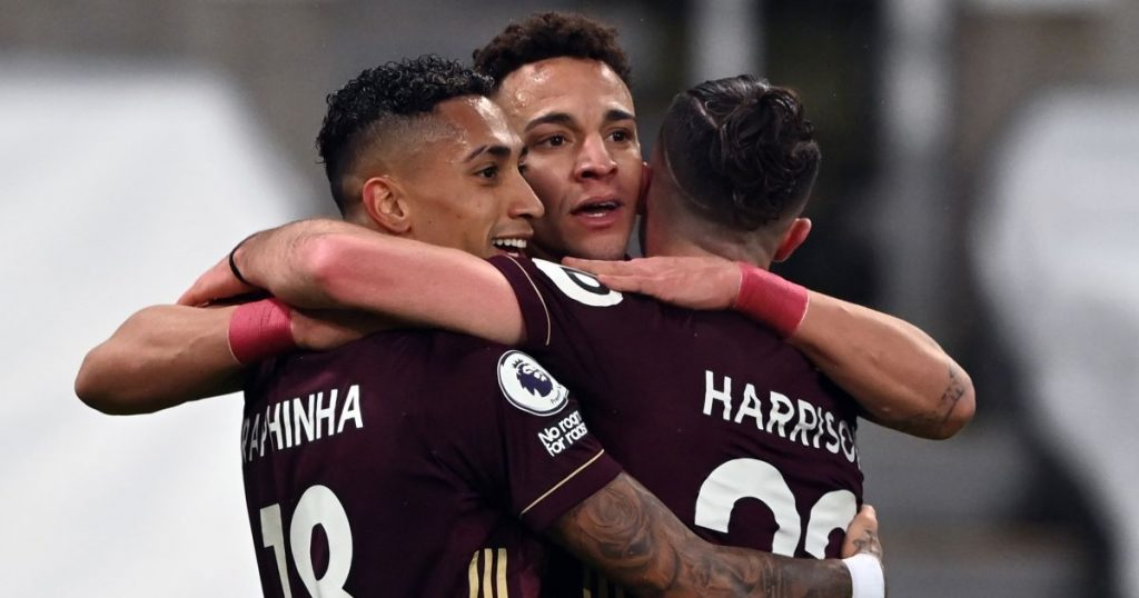 Raphinha, Rodrigo, Jack Harrison Newcastle v Leeds January 2021
