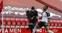 Mario Lemina Liverpool v Fulham March 2021
