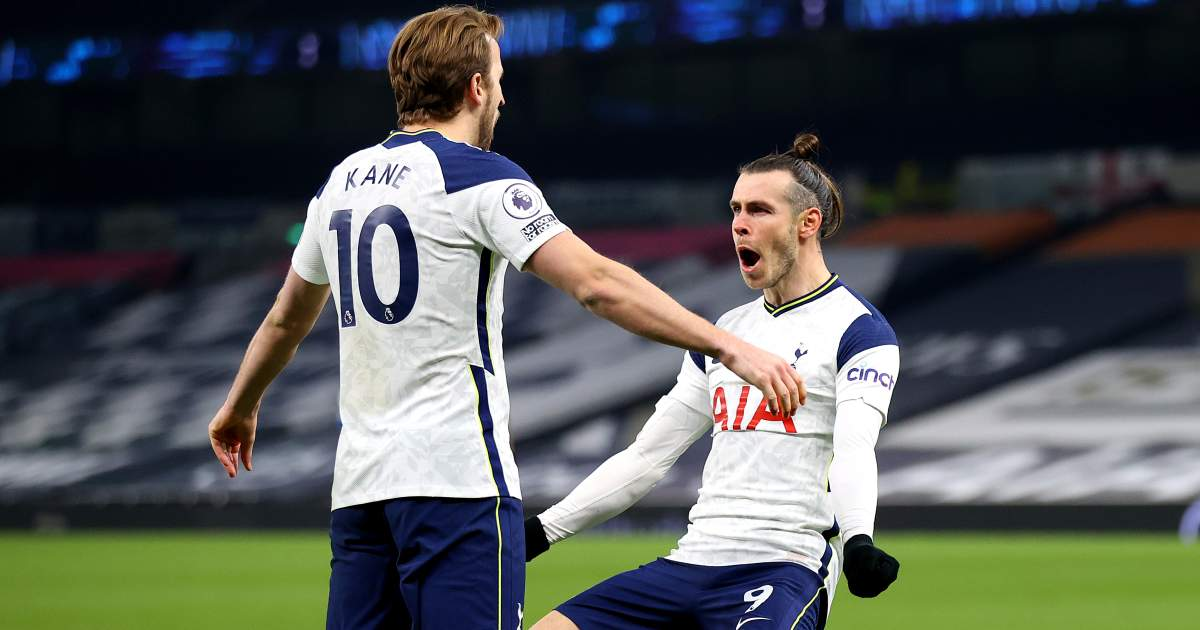 Kane, Bale combine to deadly effect as Tottenham thrash Crystal Palace