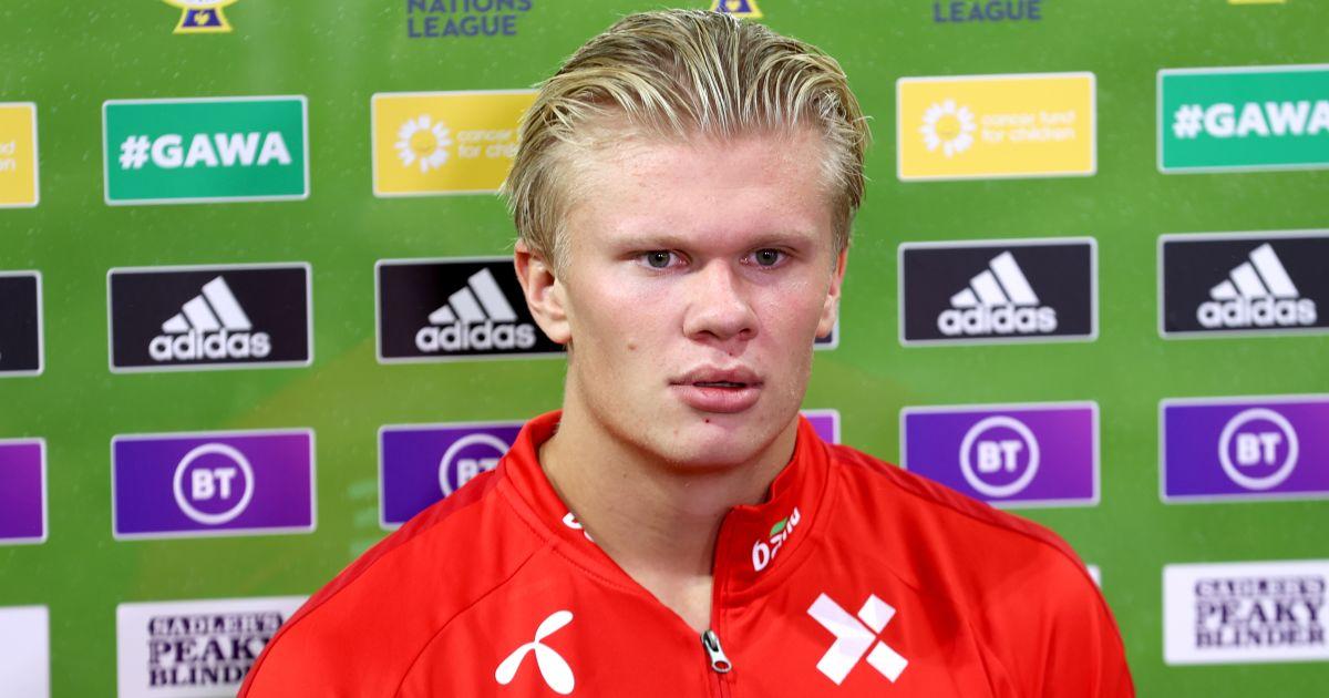 Erling Haaland Norway TV interview