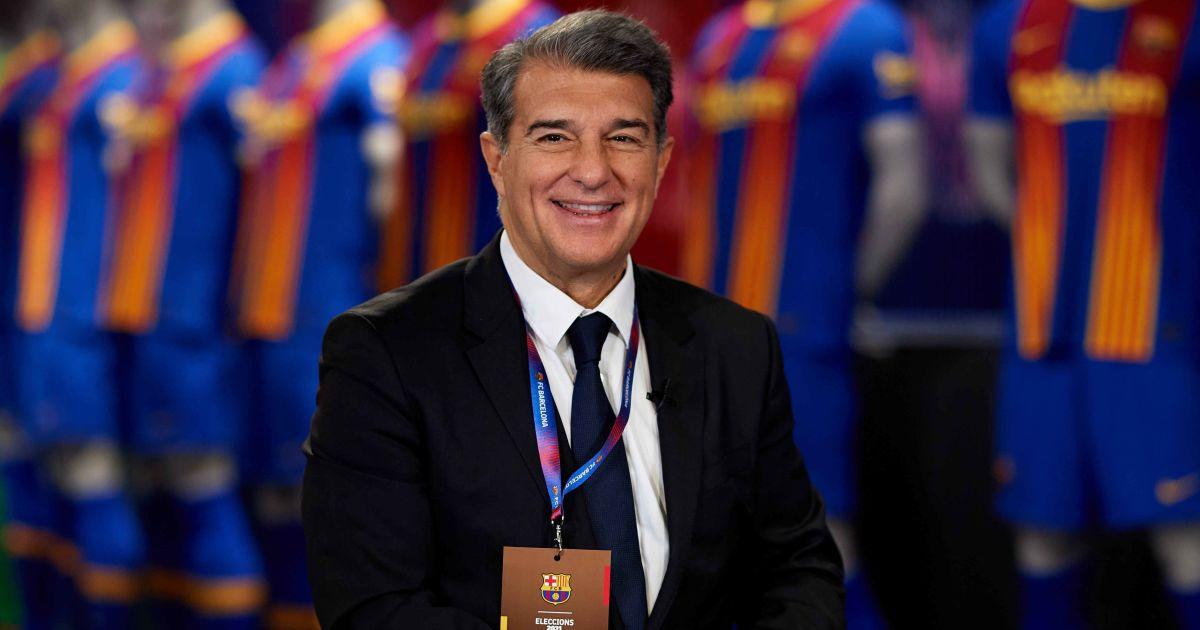 Joan Laporta Présidente de Barcelone