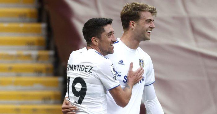 Pablo Hernandez, Patrick Bamford Leeds Utd