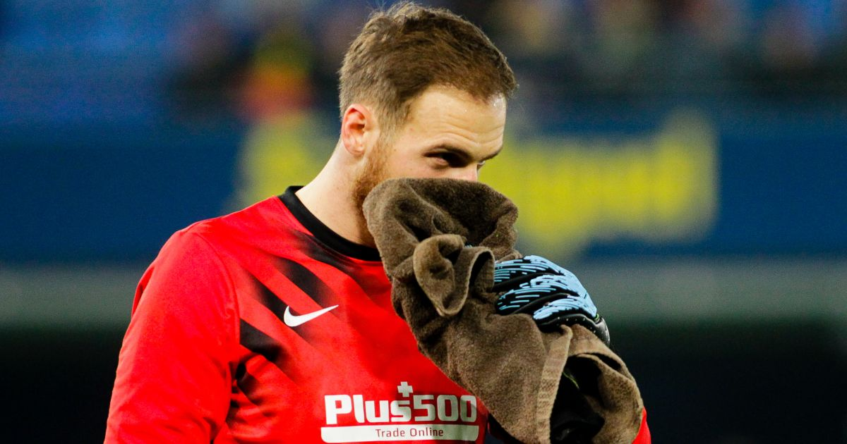 Jan Oblak Atletico Madrid goalkeeper