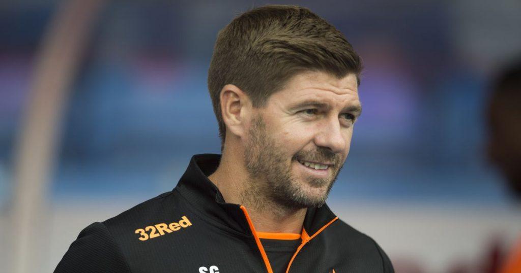 Steven Gerrard Rangers manager