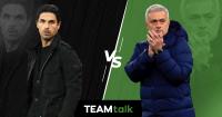 Mikel Arteta v Jose Mourinho Arsenal v Tottenham
