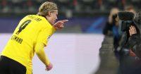 Erling Haaland Borussia Dortmund v Sevilla March 2021