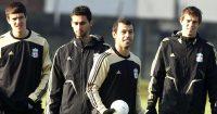 Javier Mascherano, Daniel Agger, Alvaro Arbeloa Liverpool