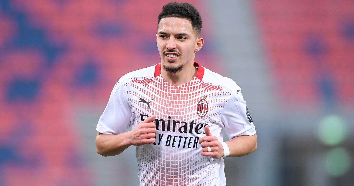 Ismael Bennacer Bologna v AC Milan January 2021