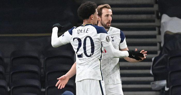 Dele Alli, Harry Kane goal v Dinamo Zagreb